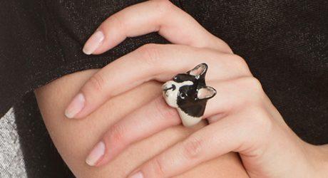 Nach Bijoux Porcelain Dog Jewelry