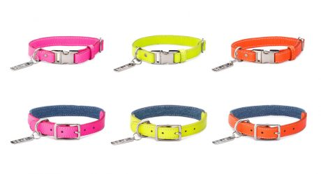 New Neon Leather Collar Collection from LoveThyBeast
