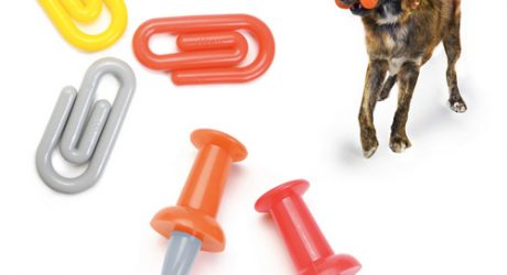 Paperclip and Push-pin Chew Toys by Waggo