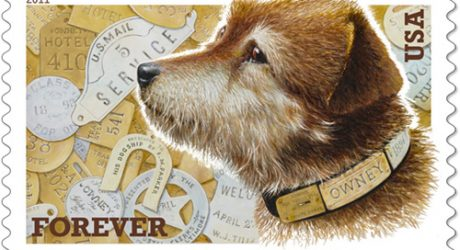 Owney the Postal Dog Commemorative Stamp