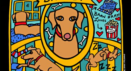 Custom Dog Story Portraits by Anne Leuck Feldhaus