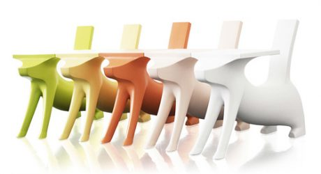Kid's Dog Desk by Philippe Starck
