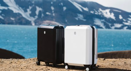 Phoenx Recycles Fishing Nets, Carpets, and Plastics Into Modular Luggage