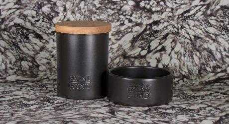Modern Ceramic Bowls and Treat Jars from Prunkhund