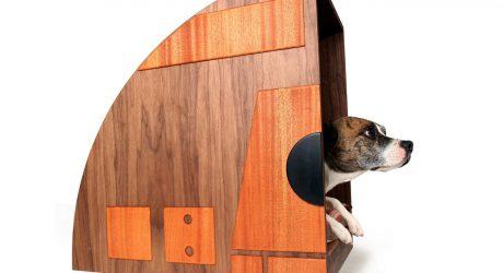 Retro Dog Den from Bohemian Workbench