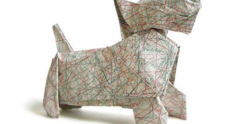 Origami Scottie