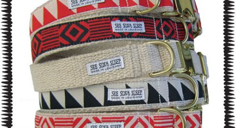 New Collars, Leashes and Artwork from See Scout Sleep