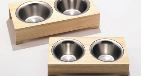 Side by Side Dog Bowls