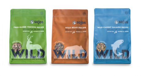 New from Sojos: Exotic Protein Dog Food