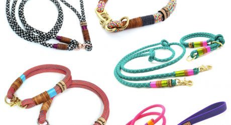 Colorful Rope Leashes & Collars from Souleashes