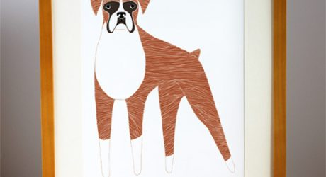 Stacie Bloomfield's 52 Weeks of Dogs Illustrations