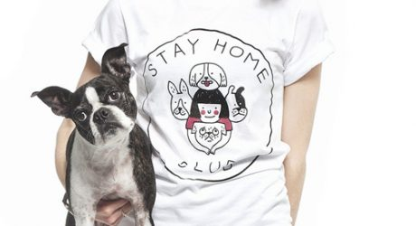 Stay Home Club featuring Dog Illustrations by Gemma Correll