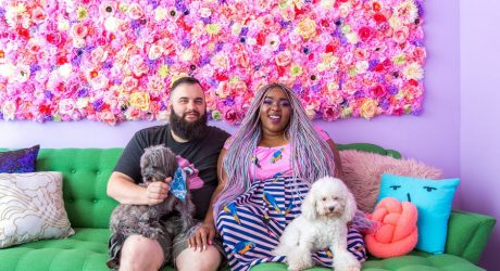 Spotted: Two Pups and Their Candy-Colored Wonderland