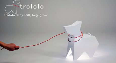 Trololo Floor Lamp by Egle Stonkute