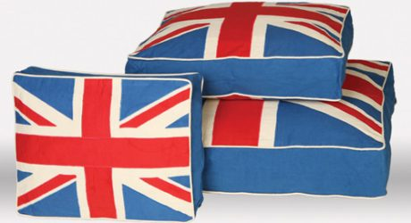 British-Inspired Dog Beds