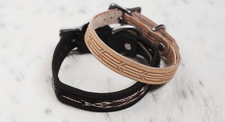 Review: Handmade Leather Dog Collars from Gitli Goods