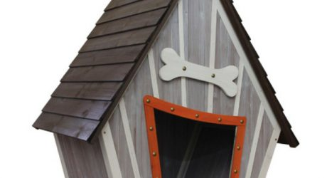Houses and Paws Whimsical Dog House