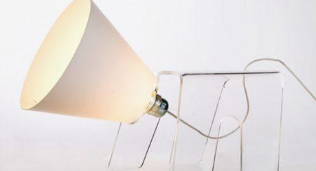 Zaki Dog Lamp