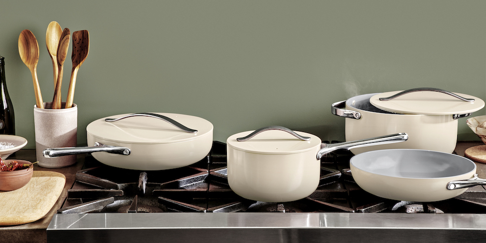 Caraway: A New Modern Cookware Set You Won't Want to Stow Away