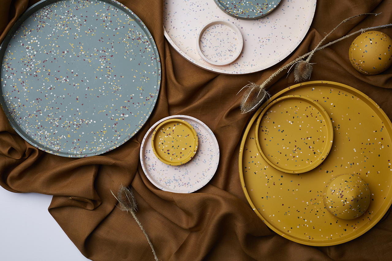 Yellow Hues Bring Warmth to the Golden Collection by Capra Designs