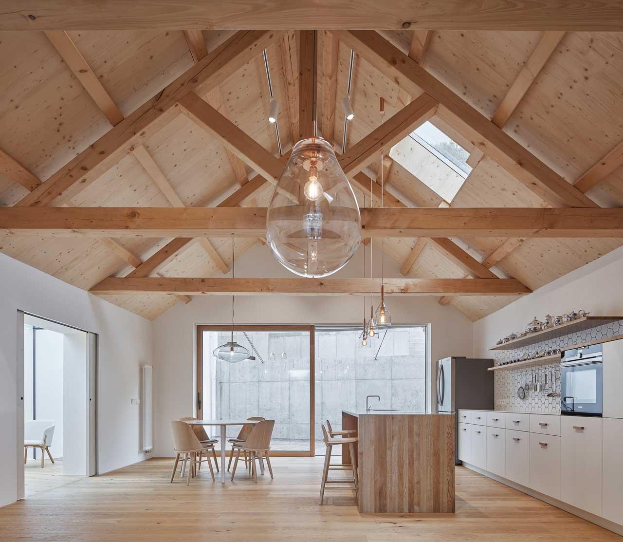 A Modern Family House in Prague by Atelier 111 architekti