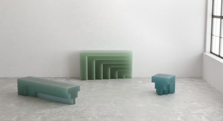 Niko Koronis Creates a Family of Furniture in Resin