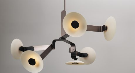 James Dieter Releases a Collection of Graphic Light Fixtures