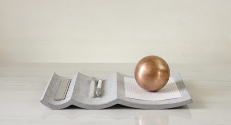 Concrete Accessories That Explore the Beauty of Proportions