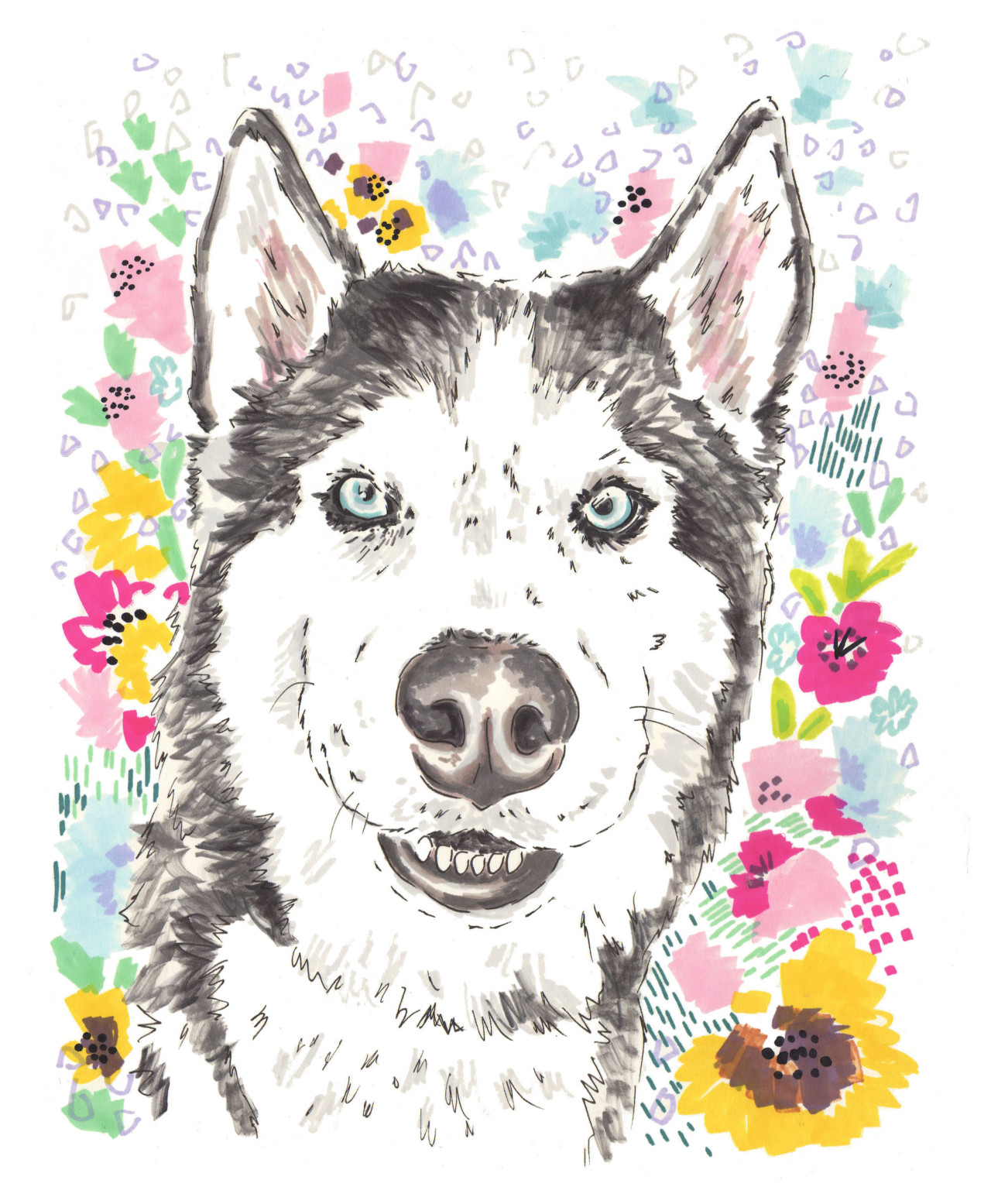 Custom Pet Portraits From Jo Chambers