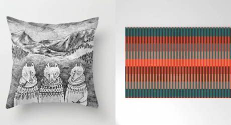 Hitting up the Holiday Decor at Society6