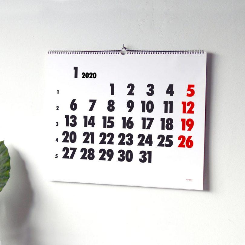 20 Modern Calendars for 2020