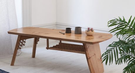 Anthony Dain Bridges British Furniture Making with Japanese Joinery