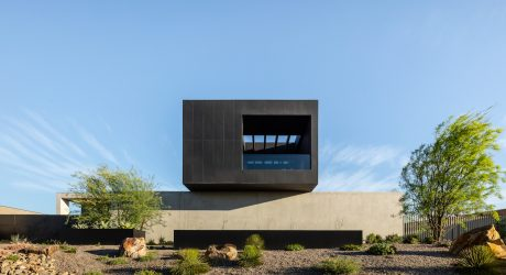 Cayambe: A Minimal Single Family Home in the Las Vegas Desert