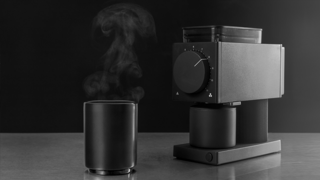 The Ode Brew Grinder Dials in the Design of Coffee Preparation