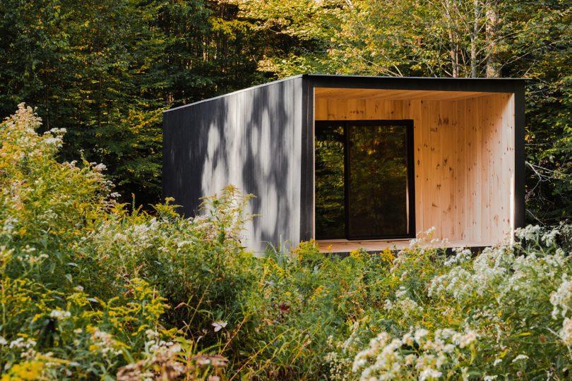 The Edifice: A Modest Cedar Cabin by Marc Thorpe Design