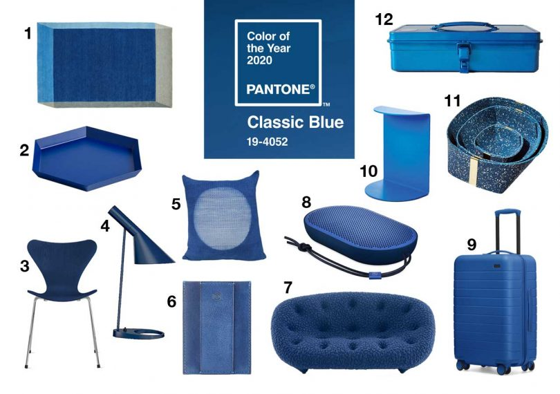 PANTONE Color of the Year 2020: Classic Blue