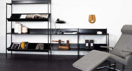 WOGG Debuts Elegant Modular Shelving System