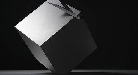 The Cubic Clock Reveals Its True Form Only Twice a Day