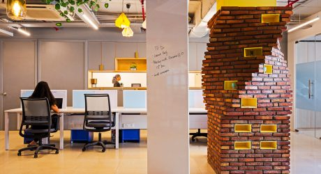 Studio Bipolar Designs an Office in New Delhi That Gives Nod to DNA