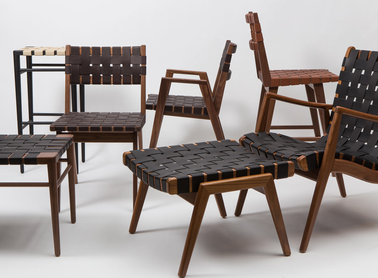 How the Woven Leather Collection From Smilow Design Is Made