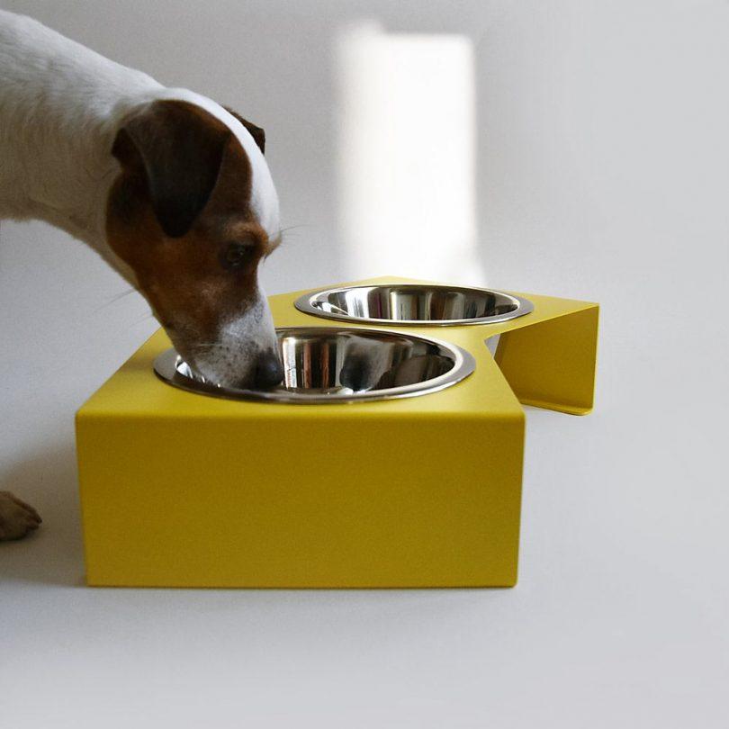 Miski V Feeder From HELLO PETS