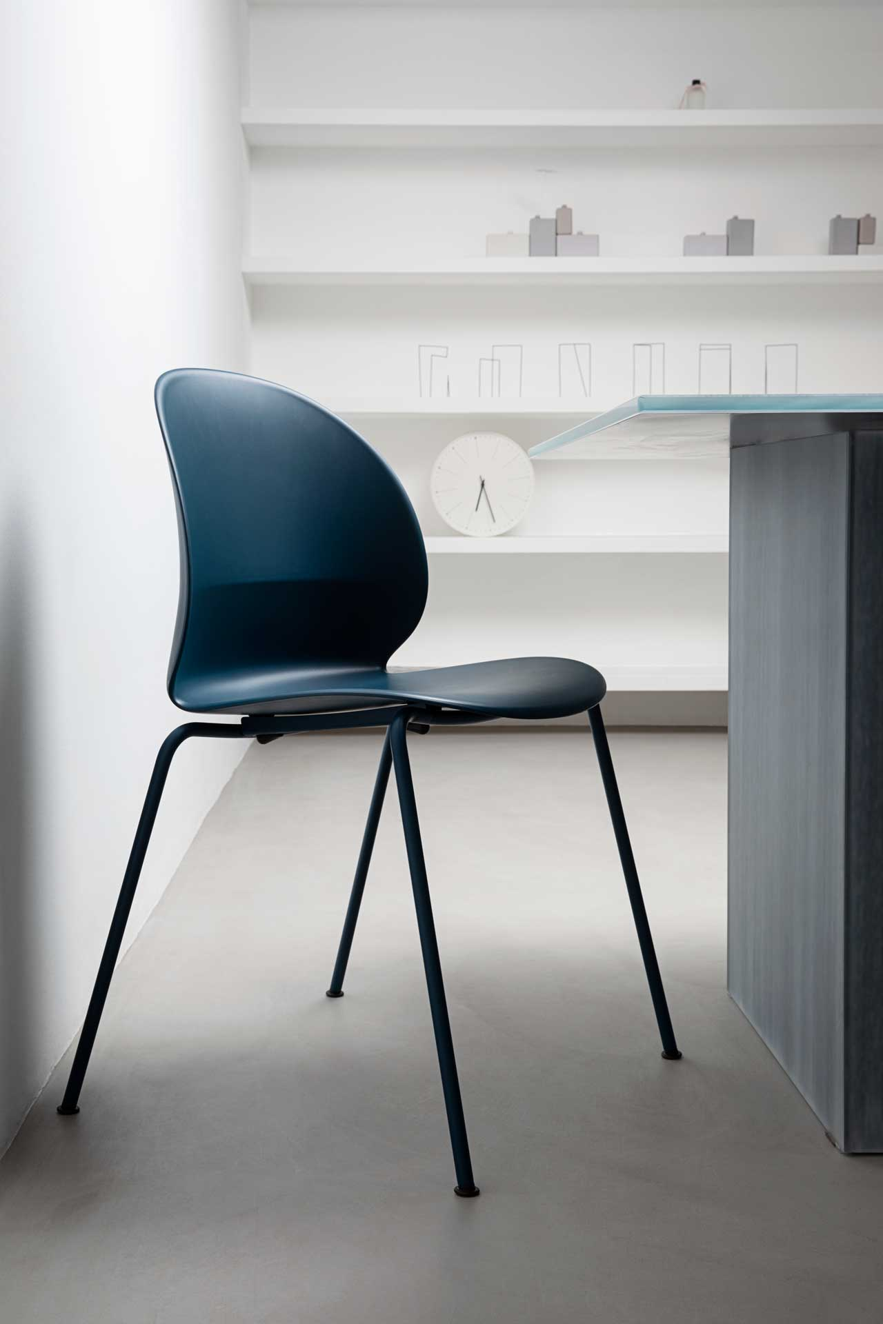 Fritz Hansen Launches the N02™ Recycle Chair Made of Household Waste