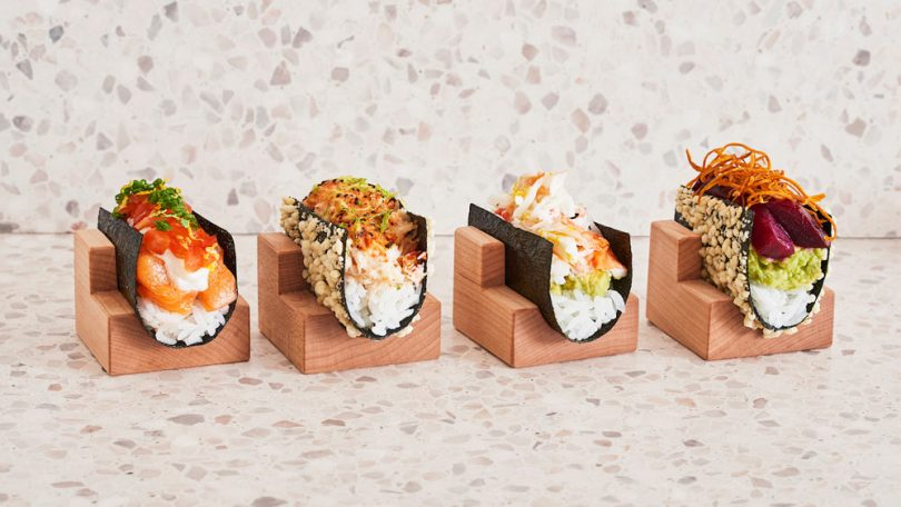 NYC's Nami Nori Restaurant Turns Hand Rolls into Tacos