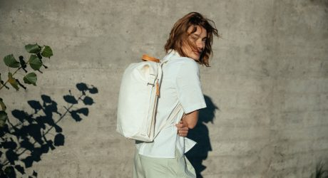 QWSTION Creates a Minimalist Bag Collection Made From Banana Plants