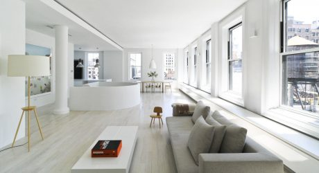 A Modern, Light-Filled Duplex Loft in Manhattan