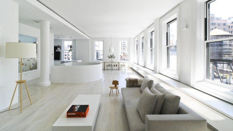 A Modern, Light-Filled Duplex Loft in Manhattan