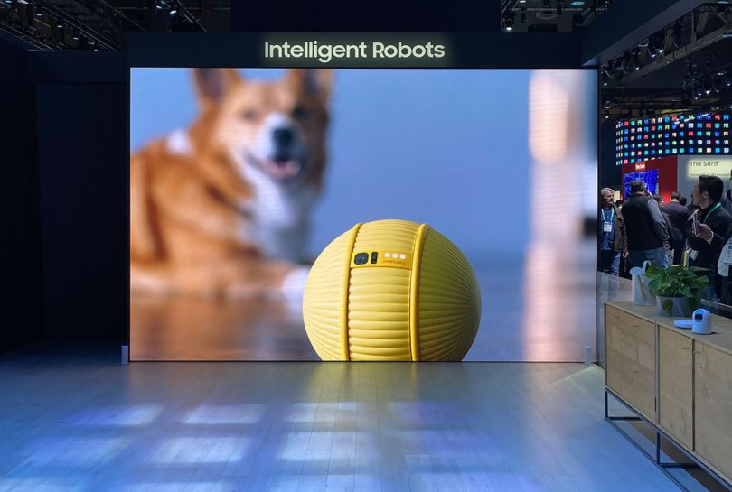 Samsung Ballie Rolls Into the Hearts of CES 2020
