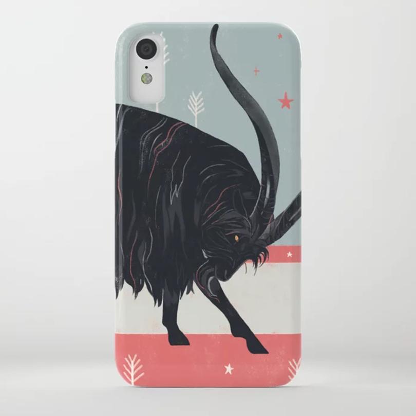 Capricorn Goddess Phone Case