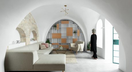 A Bright Cave-Like Home in the Old City of Jerusalem