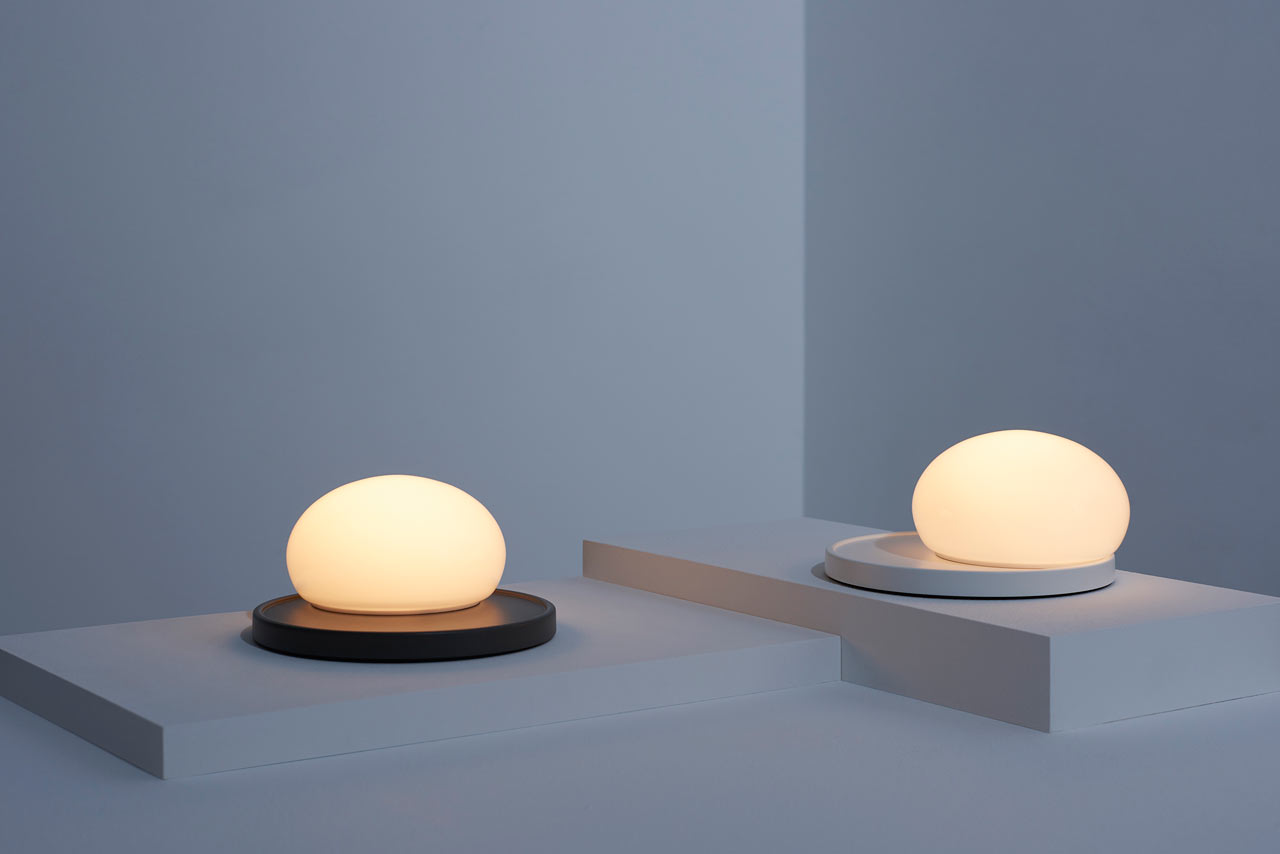A Modern Lamp That Requires Human Touch to Adjust It - Design Milk